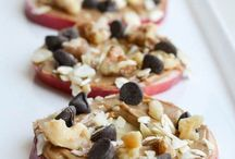 Snack Ideas / Healthy snacks, easy to make snacks, and quick snack ideas.