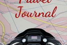 Travel Journal / Vacation, relax, time to explore, fun times, motorbike, touring in Europe