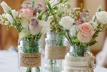 Dekoracje / Dekoracje ślubne, głównie w stylu rustykalnym