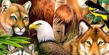 Ⓟe♈ Animalândia (♥♥) / Belas Fotos, Ilustrações e Pinturas de Animais. Alguns fantásticos ou extintos como dinossauros e criaturas míticas. Inclui belas ilustrações e dicas sobre cuidados e informações quanto a bichos domésticos.