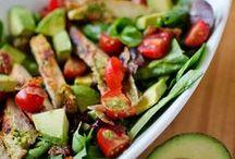 ℂℎεf Green Food ઇઉ / Pratos de Saladas, Legumes, verduras, raízes e diversos alimentos verdes.