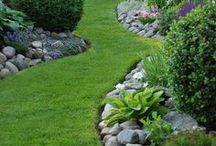 Lawn & Landscape / Landscaping | Landscape Design | Greenery | Garden | Lawn | Grass | Flowers | Stones | Pavers | Bushes | Topiary