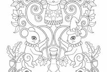 Free coloring pages by Ebony Rainn / Just print and color all copyright belongs to me these images are for personal use only  this are from Autumn falls coloring book the book is on Amazon and here on Etsy ---) https://www.etsy.com/listing/472556342/fall-coloring-book-autumn-falls-coloring https://www.etsy.com