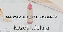 Magyar beauty bloggerek közös táblája / Ha szépségápolásról, magyar nyelven blogolsz, itt a helyed! Ez az osztott tábla jó lehetőség arra, hogy promózd a blogbejegyzéseidet. Jelentkezés: Írj egy e-mailt a haboskakaoblog@gmail.com címre a blogod linkjével és a Pinterest-azonosítóddal. Jó tanács: A Pinterest jobban szereti a függőleges képeket. Kérlek, napi 3 képnél többet ne tűzz ki, mellőzd a pornográf, trágár, sértő tartalmat és a spamelést. Köszönöm! Marcsi