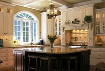• KITCHEN inspiration • / My dream kitchen and things I would love in my current kitchen.