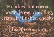 • Season✧ Autumn • / Interior decorating ideas for my favourite season, Autumn (fall).