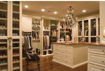 • CLOSET inspiration • / Because every girl dreams of having a huge and beautiful closet!