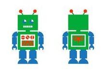 Illustration > robots & rockets