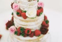 Beautiful wedding cakes / Your wedding cake is the part of the event where one gets to indulge and cross arms with that special someone. Have fun designing your cake table with Premier Table Linens, for that sweet moment.