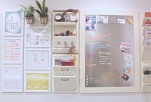 The art of organization / Easy to see, easy to find, easy to use - ahhhh, the essence of and organized space. / by Shari Cable