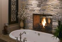 Bathroom remodeling ideas / different ideas for painting and remodeling bathrooms  / by Brittany Hendricks