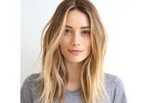 Hair brunette/blonde / Hair styles and colour