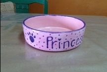 Painting for Pets / Because our pets are more like family, they like personalization too!  Take a look through these treats for the sassy kitty and/or pooch in your life and think of painting something for them!
