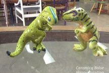 Painting for Kiddos / From figurines to fun things for kids to paint...Here are some ideas for the little people!