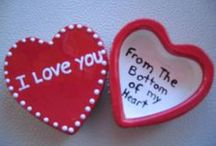 Be My Valentine! / Make Valentine's Day more than a Halmark Holiday! Paint yourself silly... and here are some ways how!