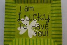 Luck of the Irish! / Go Green for St. Patty's Day! Fun ways to paint your way to a celebration!