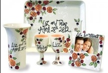 Just Married! / They already have a toaster!  Give them a gift that will remind them of their love daily!