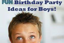 brayden's 3rd birthday ideas / by Brittany Hendricks