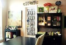 Craft room / by Brittany Hendricks
