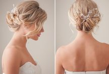 Bridal: Hair Tutorial / This bridal hair tutorial shoot was published on 100LayerCake.com - an awesome blog for women looking for the latest wedding styles. Had the pleasure of working with Cammy Lau (hairstylist) and Marisol Aparicio (headpieces).