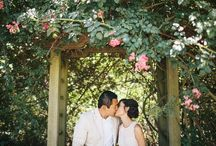 Anniversary: Minh + Yang / To celebrate and commemorate their one-year wedding anniversary, Minh and Yang shows us how they have grown into their marriage over the past 12 months with a beautiful shoot at Descanso Gardens in La Cañada Flintridge, California. I love how at peace they look in these photographs. But more than that, there is so much joy and love. Descanso Gardens was the picture perfect backdrop for Minh and Yang to say happy anniversary to each other.