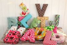 DIY Letters/Monogram / DIY projects to do w letters and monogramming :) / by Allison Burke