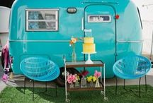 Vintage Campers / I'm dreaming of making over a vintage trailer/camper someday... / by Steph @ Silver Boxes