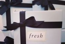 Fresh Gift Bar / At Fresh, we believe artisanal gifts should express the craftsmanship and attention to detail in which we pride ourselves. / by Fresh