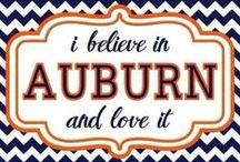 Auburn / by Randi McCleskey