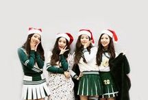 K-pop christmas ♥ / Christmas k-pop style ^_^ / by Jo Searles