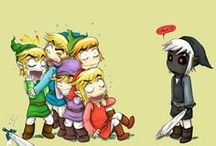 Legend of Zelda ♥♥♡ / by Jo Searles