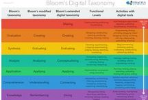 Bloom's Taxonomy Visualizations / by Debbie Fucoloro