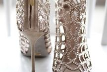 Bridal Shoes / The unforgettable moments of a wedding are remembered time and time again. The dress of the bride is a memory one cannot forget. Guests anxiously await, the mild music plays, and everyone stands to see her beauty. The shoes make her feel 12 feet tall as she gracefully walks down the aisle.