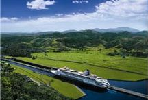 Cruising The Panama Canal / Pictures of cruises sailing through the incredible Panama Canal
