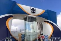 Quantum of the Seas / First glimpse of Royal Caribbean's new ship Quantum of the Seas. Taken at the Meyer Werft Shipyard in Germany.