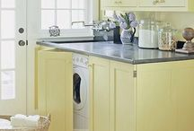 Laundry Rooms / Beautify that dull laundry room! / by Steph @ Silver Boxes