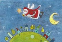 Jane Moore Houghton: Advent doodles and Christmas / My Christmas season themed work please contact : janemhoughton@gmail.com for licensing