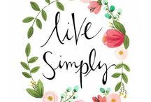 • Living simply & well • / Inspiration & ideas on living simply and well & tips on being more self sufficient.