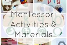 • Montessori • / One test of the correctness of educational procedure is the happiness of the child.
