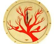 WOOD CLOCKS WITH ACRYLIC BACKGROUND / We present you beautiful, romantic clock inspired by nature.Unique wall clock an light background.  This amazing wooden clock is a great decoration specially for you. Having such an accessory on your wall means that you like sophisticated things in your interior.   Material: 3mm plywood,  Mechanism: precision quartz mechanism  Dimensions: 300 X 300. ( 12″ X 12″ )