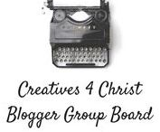 Creatives for Christ (blogger group board!) / Share your art, crafts, DIYs, blog posts, photography and anything else creative you are good at! Keep it clean and real; I have the right to remove inappropriate pins. No spam! Up to 5 pins daily :) To join 1) Follow all my boards 2) send me a text on pinterest or email me at vintageseamaiden@gmail.com. Let's encourage each other to give our gifts to God <3