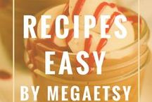 Recipes Easy Healthy / Ideas for easy weeknight dinners on the table in 30 minutes or less. So many dinner recipes for a tasty weeknight meal || For more dinner ideas check here: http://megaetsy.com/category/recipe-food/