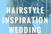 Hairstyle Inspiration Wedding / Hairstyle Inspiration Wedding. Woman's hair is a symbol of her personality, strength, beauty so it should be no different on her wedding day. From elegant updo's to beach waves, find inspiration from these beautiful wedding hairstyles for your big day.