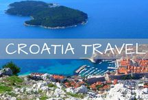 Croatia Travel / Travel inspiration and itineraries for Croatia. Guides for Plitvice Lakes, Dubrovnik, Hvar, Split, Zagreb and more!
