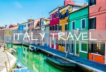 Italy Travel / Travel tips for Italy. Guides and itineraries for Venice, Florence, Rome, Vatican, Burano, Cinque Terre, Pisa and more!