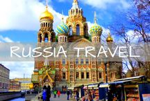 Russia Travel / Wanderlust inspiration and guides for Russia. Tips for traveling to St. Petersburg, Moscow, Lake Baikal and more.
