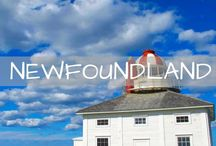 Newfoundland Travel / Wanderlust inspiration and guides for Newfoundland, Canada. Photos of St. John's, Gros Morne, Twillingate and more. Whales, icebergs and puffins!