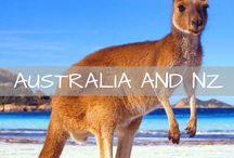 Australia & New Zealand Travel / Ideas and tips for travel to Australia and New Zealand. Guides on visiting Sydney, the Gold Coast, Melbourne, Uluru, Perth, Cairns, Tanzania, Wellington, Auckland, Hobbiton and more!