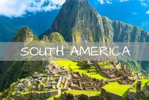 South America Travel / Travel inspiration and tips for South America. Guides and itineraries for visiting Peru, Patagonia, Colombia, Chile, Argentina, Bolivia, Ecuador, Iguazu Falls, the Galapagos Islands and more.