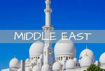 Middle East Travel / Tips and inspiration for travel in Jordan, Dubai, Abu Dhabi, Israel, Iran, Oman and more!